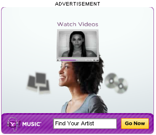 Yahoo!Music Ad Initial - Check the player frame