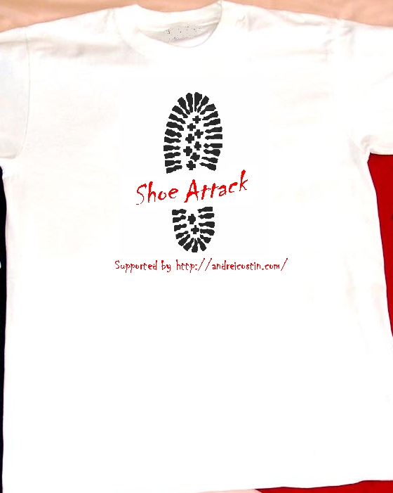 Shoe Attack supporter T-Shirt