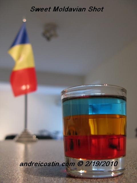 Sweet Moldavian shot